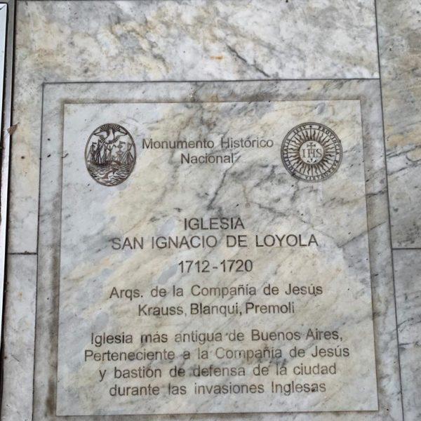 Bem perto da Casa Rosada e outras atrações, merece ser visitada