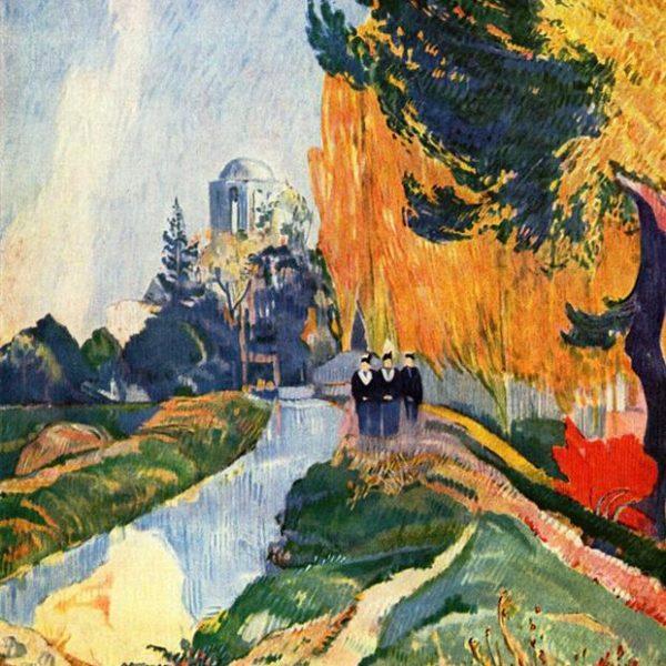 Les Alyscamps, de Paul Gauguin, de 1888.