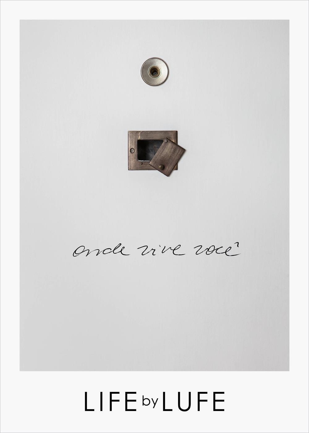 A capa do livro de Lufe Gomes