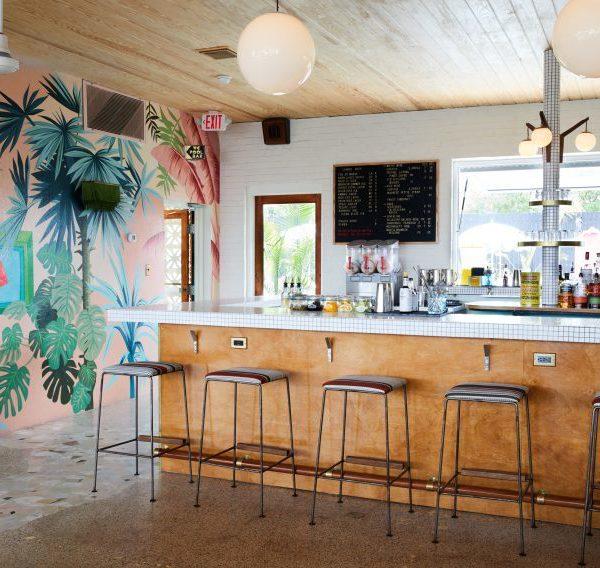 O bar do hotel