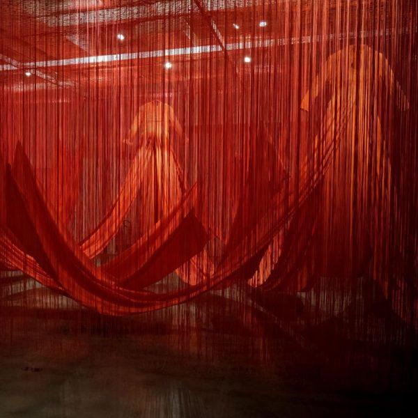 Linha Interna (Internal Line) - Chiharu Shiota na Japan House São Paulo - foto Alexandre Virgilio 2 - Copia (Copy)