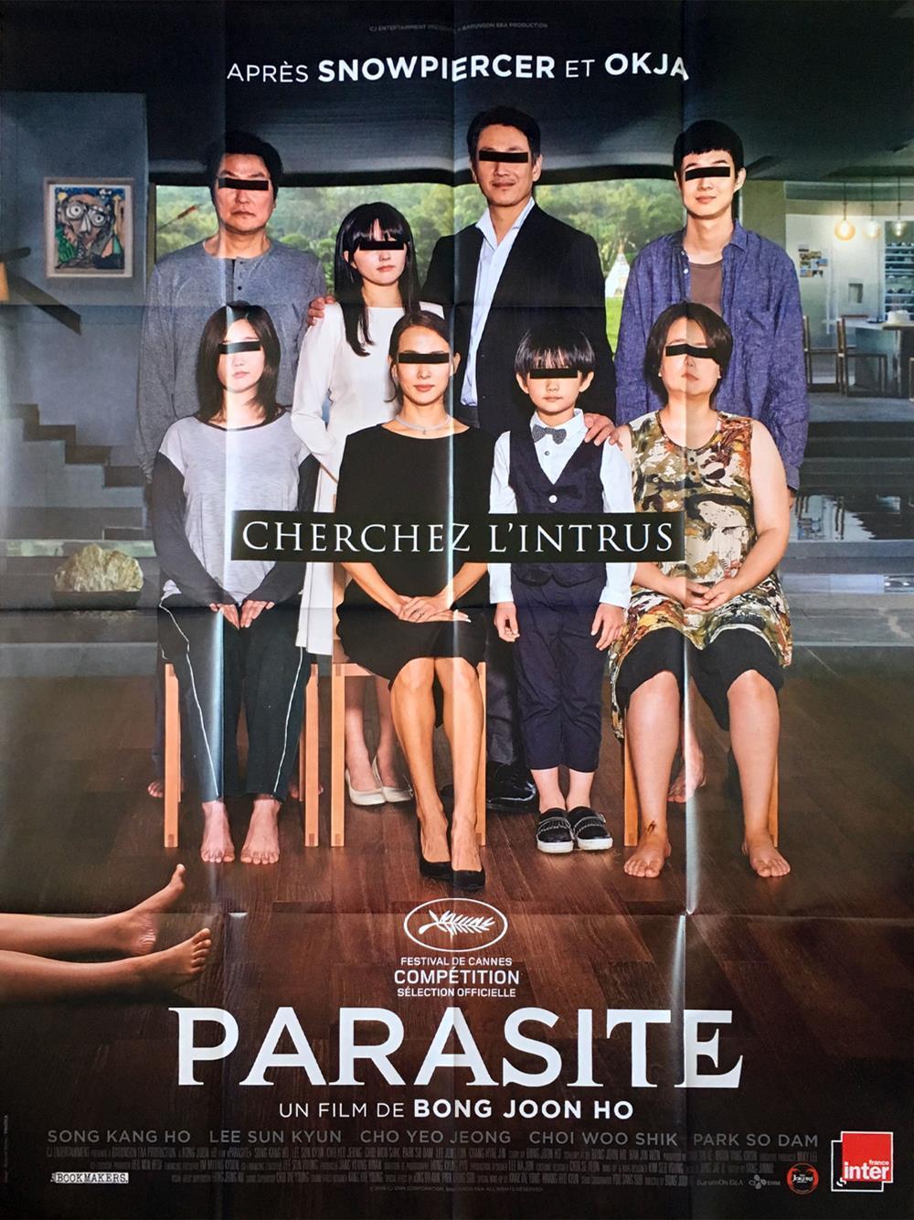 Parasita é aquele filme que você nem acredita, de tão bacana