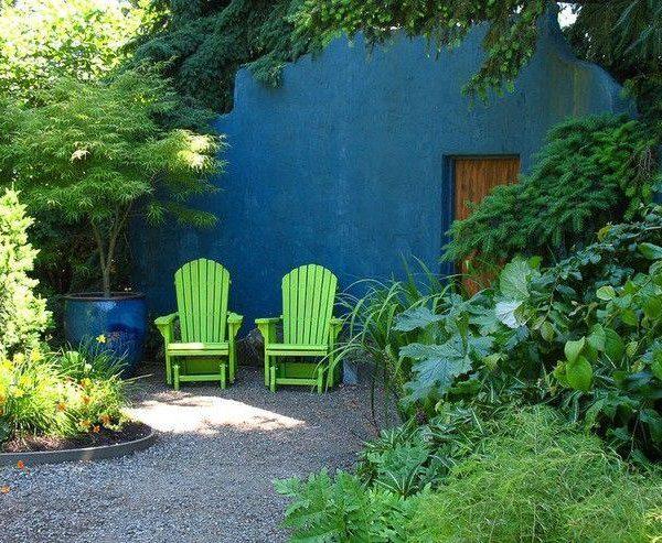 O verde também é uma sugestão para 2020, e combinado ao azul, fica sempre incrível