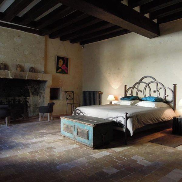 Um dos quartos, La Licorne