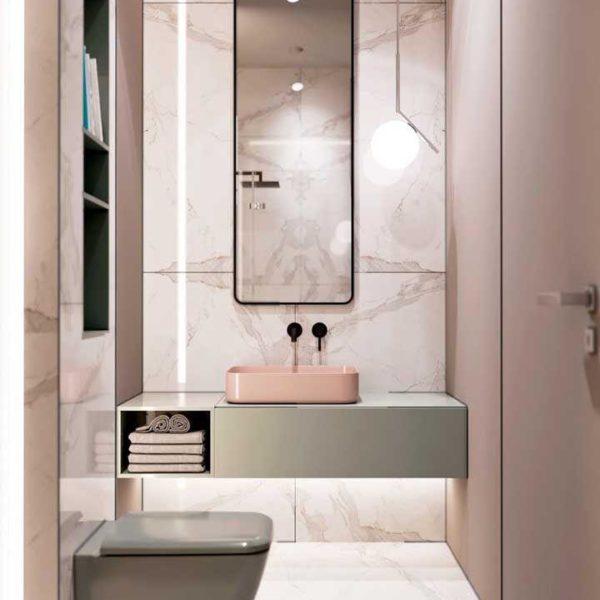 Banheiro simples e lindo!
