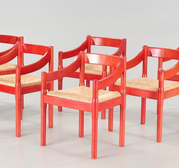 Cadeiras Carimate, desenhadas para o clube de golfe de mesmo nome
