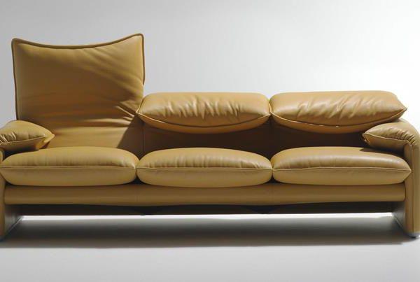 O sofá Maralunga, em outra configuração