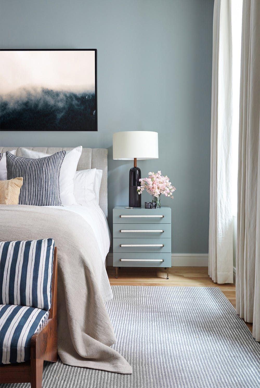 Adoro o azul, além de ser super indicado para quartos, é lindo.