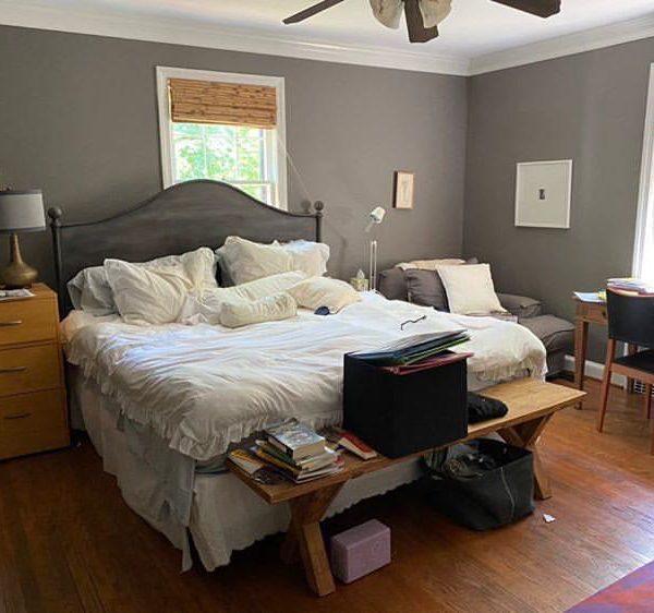 Este é o quarto da Marianne, hoje.