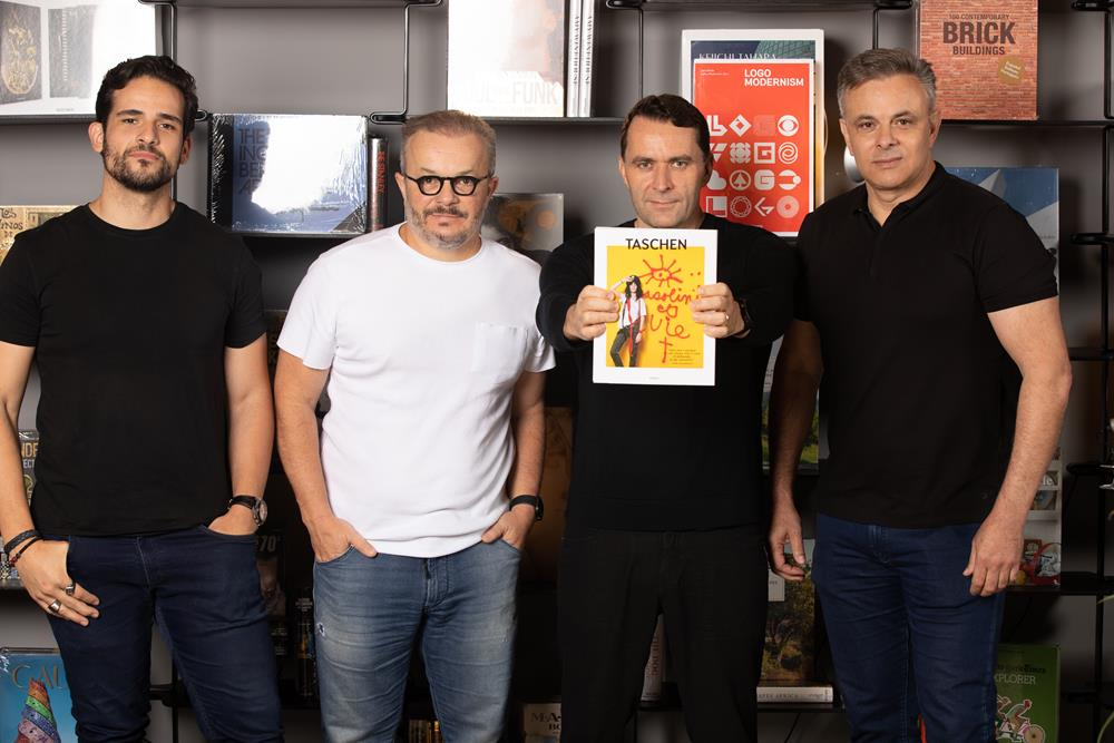 André Gurgel, Felipe Bezerra, Julius Wiedemann e Uelinton Ribeiro