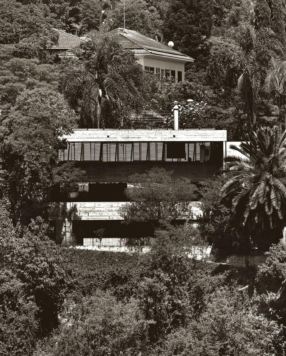 Casa Masetti, por Paulo Mendes da Rocha