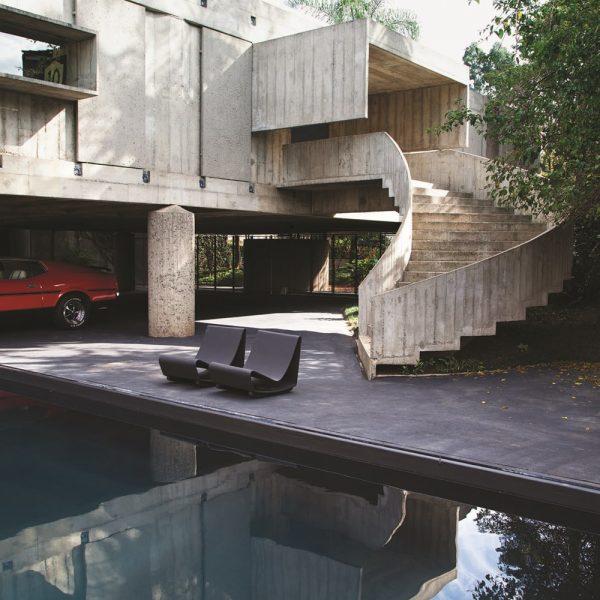 A piscina da Casa Masetti