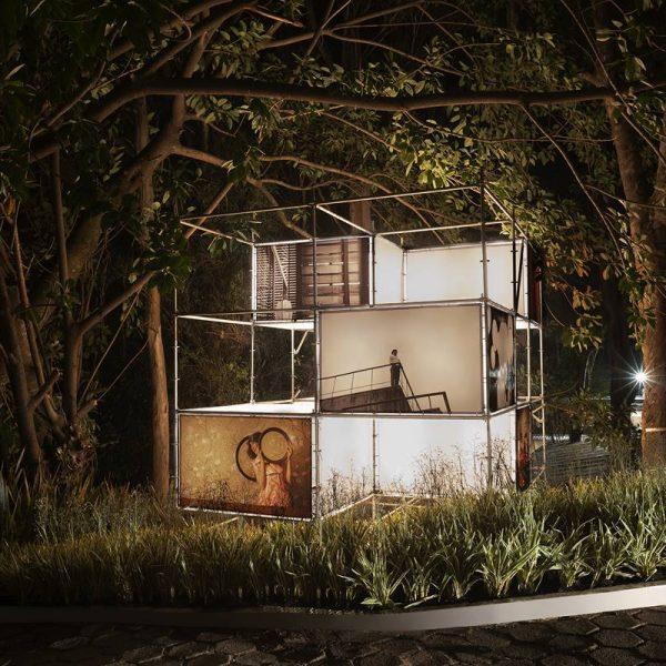 Exposição fotográfica O Simbionte, projeto Leca Novo