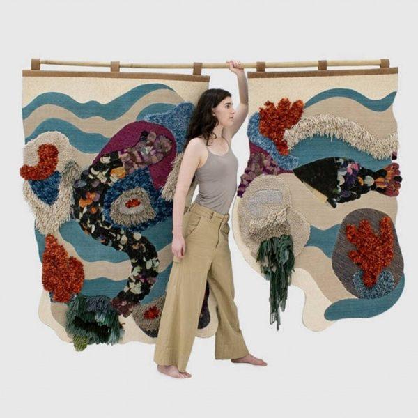 Tapeçarias Sirena e Pesce de Kiko Maldonado para a By Kamy